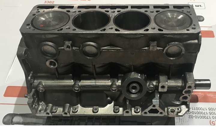 Шорт блок двигателя УМЗ-4216 евро 3, евро 4