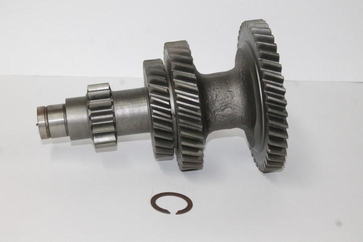 Блок шестерен КПП ГАЗ-53,3307 вала промежуточного под стопорное кольцо (КНР)  53-12-1701306
