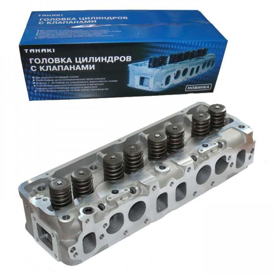Головка цилиндров ГАЗель двигатель УМЗ 4215, АИ-92/газ с клапанами (4215.1003010-70), TANAKI, номер католога TKG-1003010-57