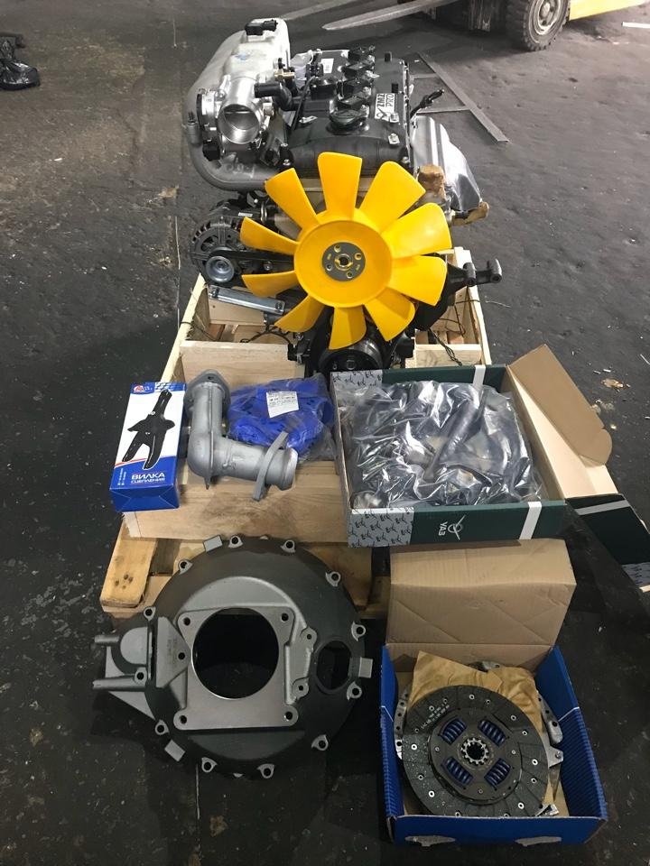 Переоборудования двигателя с УМЗ 4216  на Двигатель ЗМЗ-409 ПРО евро-5 артикул 40905100040-95 409052.1000400-00 под ГБО