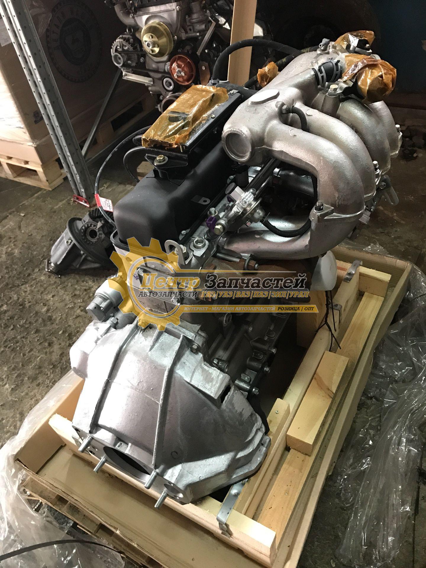 Двигатель УМЗ-4213 евро-3 для грузовых  коммерческого автомобиля «УАЗ» диафрагмируемым сцеплением. Мощность 107 л.с. Артикул 4213.1000402-50.