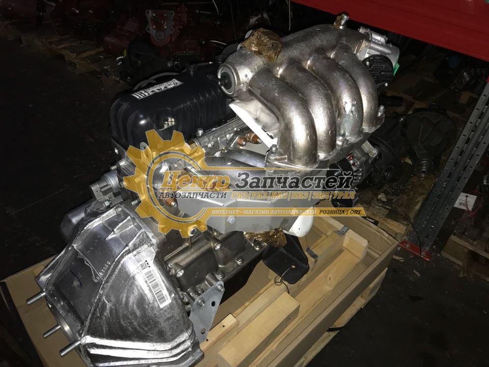 Двигатель УМЗ-4216-70 евро-3 (2 ремня) для ГАЗ Газель Бизнес и Соболь Бизнес. Мощность 106,8 л.с. Артикул 4216.1000402-70.