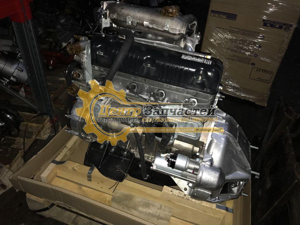 Двигатель УМЗ-4213 евро-2 для легкового  коммерческого автомобиля «УАЗ» диафрагмируемым сцеплением. Мощность 99 л.с. Артикул 4213.1000402-40.