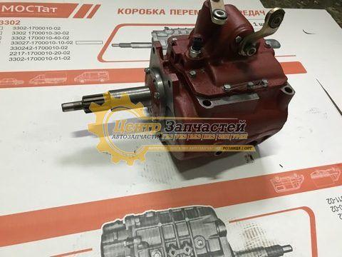 Коробка передач УАЗ 452 нового образца 4-ст.(тонкий вал 29мм.)«Буханка» Артикул 452-1700010-10, 452-1700010-11.
