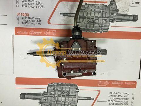 КПП УАЗ-315195 Хантер в сборе (4 ст.) под лепестковое сцепление АДС арт. 31519-1700010