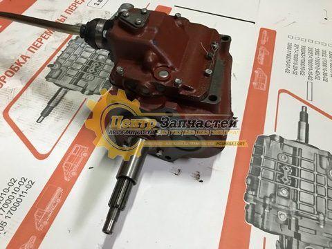 Коробка передач УАЗ 469 УАЗ-3151(нового образца)тонкий вал 29мм. Артикул 469-1700010-10.