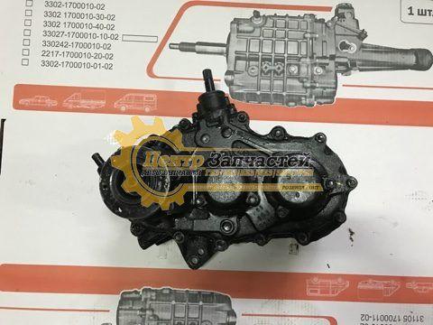 Коробка раздаточная УАЗ 469 УАЗ-3151(нового образца)косозубая шестерня. Артикул 31627-1800120-10.