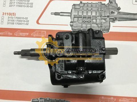 Коробка передач УАЗ 452 старого образца 4-ст. «Буханка» 452-1700010-10, 452-1700010-11; 3909-1700010.