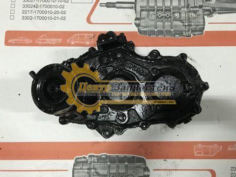 Коробка раздаточная УАЗ 452 нового образца УАЗ 3741. Артикул 390995-1800121.