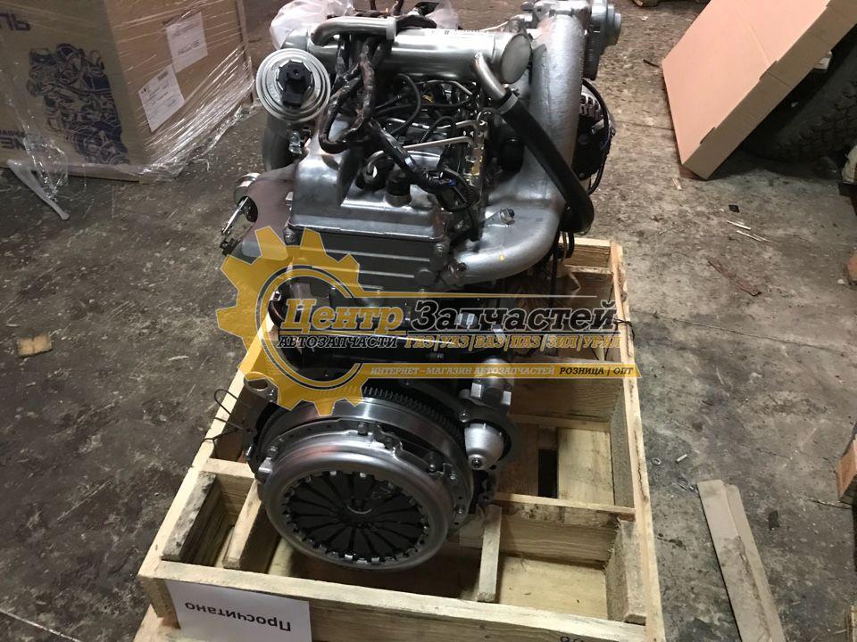 Двигатель ЗМЗ-514 2.2 16V евро 4 для легкового  коммерческого автомобиля «УАЗ» Патриот (дизель) КПП Dymos. Мощность 113,5 л.с. Артикул 51432.1000400-20.