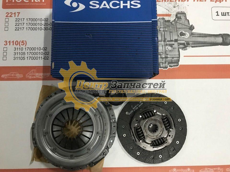 Сцепление Sachs ГАЗЕЛЬ 3302 Соболь 2217 Двигатель ЗМЗ 405, 406, 409. Артикул 3000 951 401.