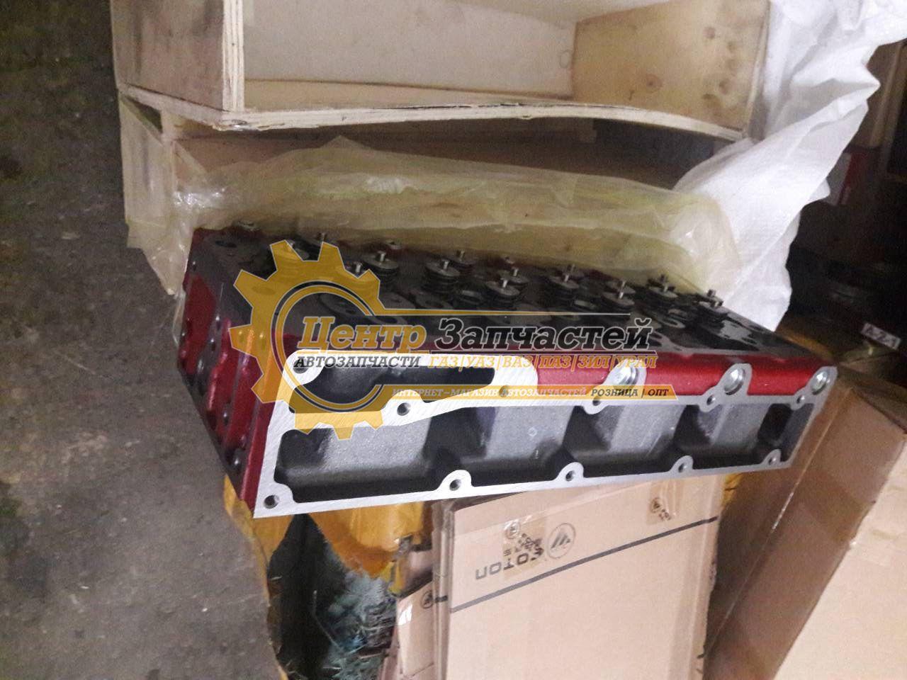 Головка блока цилиндров ГАЗ-3302 дв.CUMMINS ISF 2.8
