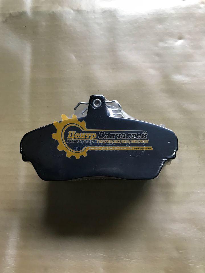 Колодки тормозные ГАЗель 3302 передние (4штуки) в комплекте 3302-3501800-02.