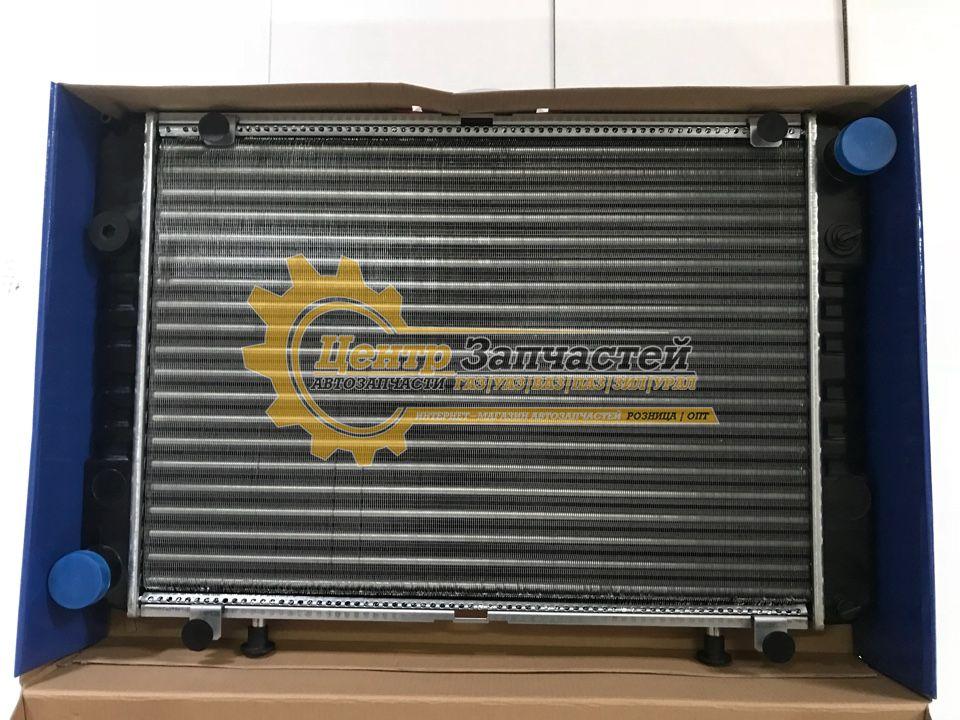 Радиатор 2-х рядный алюминий дв. ЗМЗ-406,405  ГАЗ-3302 Артикул 33021301010.