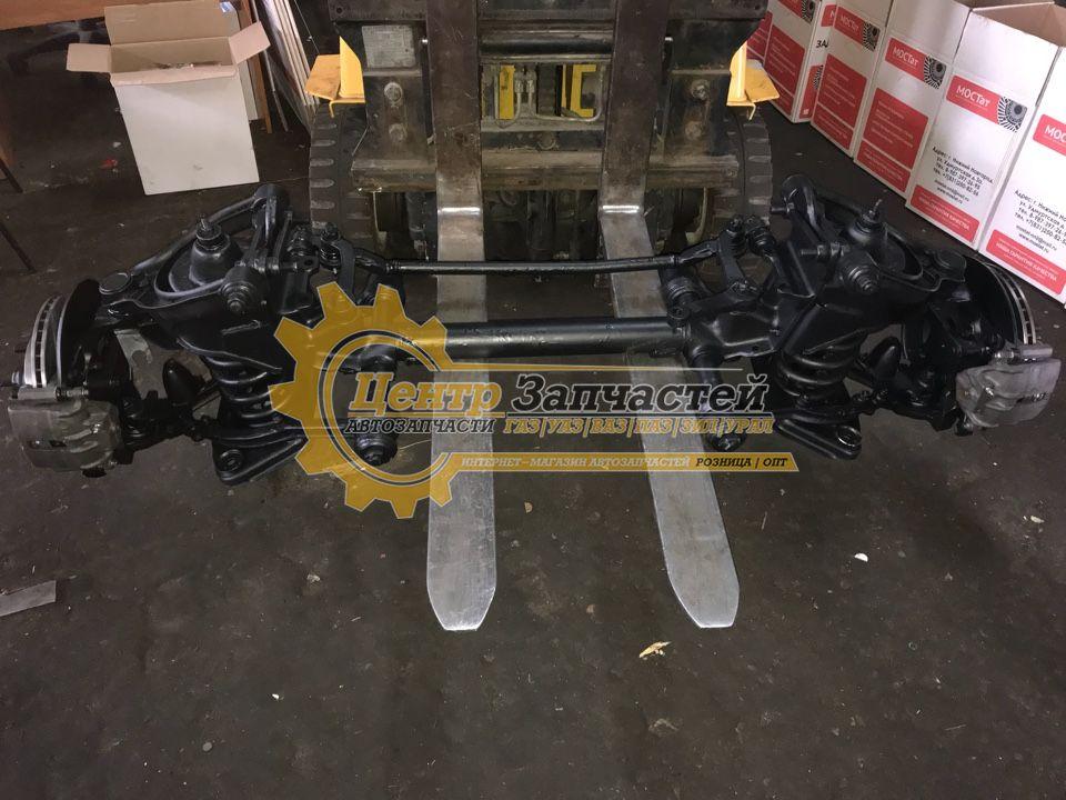 Передняя подвеска в сборе соболь ГАЗ-2217 артикул 2217-2901012