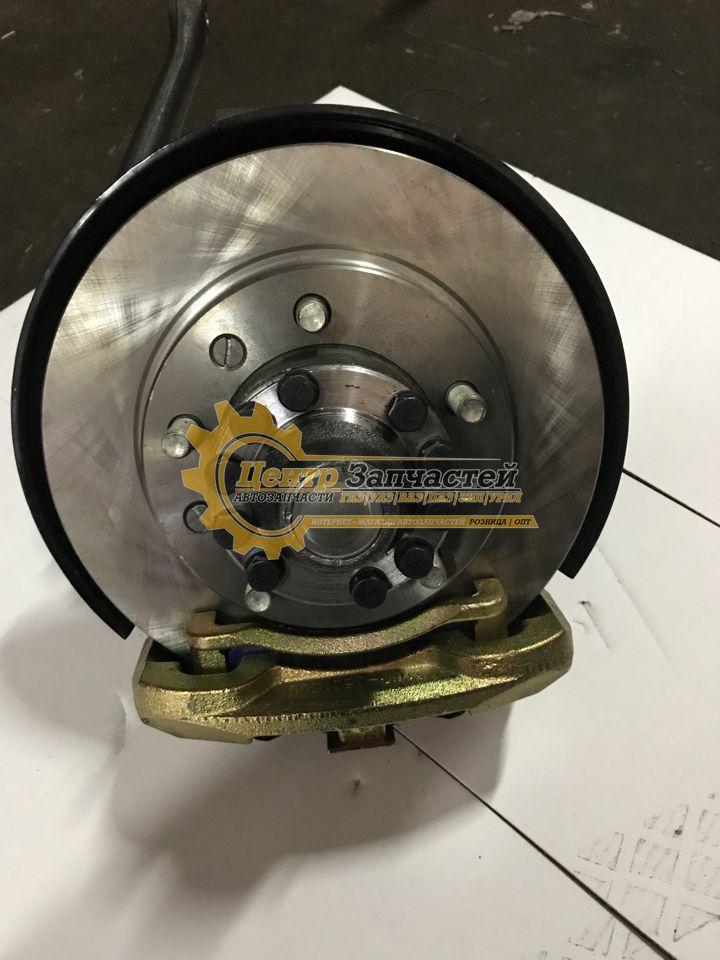 Поворотный кулак УАЗ патриот левый в сборе  3163-2304006.