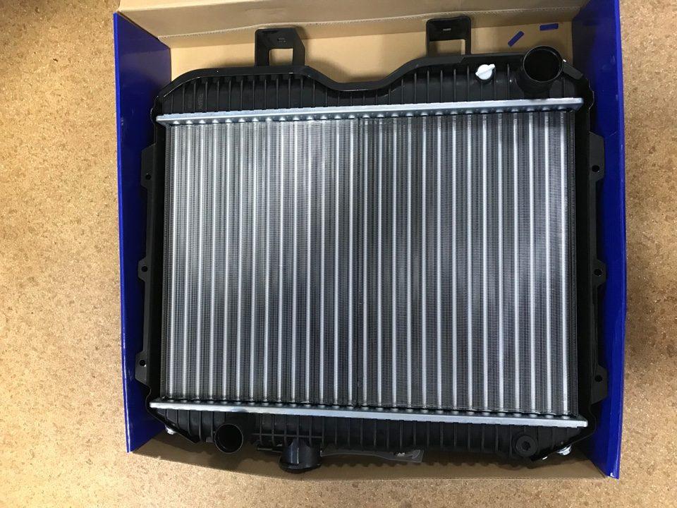 Радиатор УАЗ-452,469 алюминиевый 2-х рядный  3741-1301010