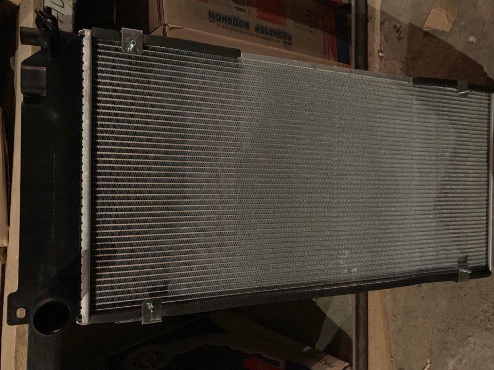 Радиатор охлаждения Газель под интеркулер дв. ISF 2.8 Cummins Артикул А073.00.010-21.