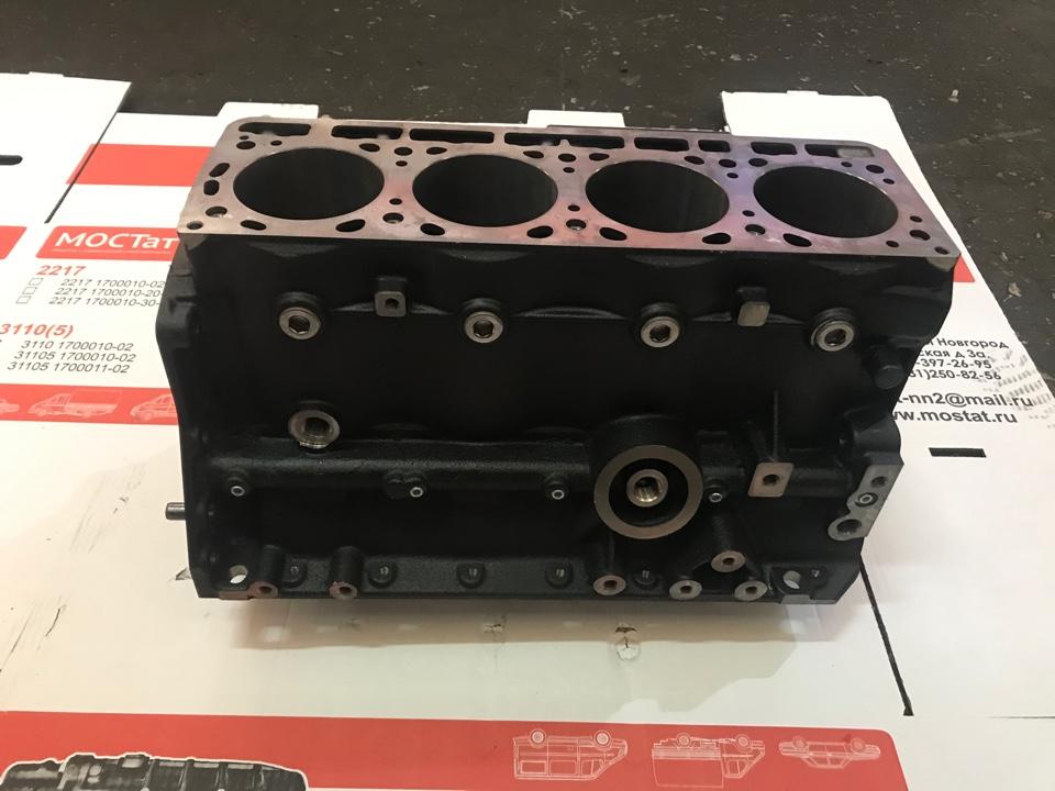 Блок цилиндров двигатель EvoTech 2.7 ГАЗ-A21R23 для Двигателя EvoTech 2.7.Артикул А274.1002155-13. (чугунный блок) евро 3, евро 4,евро 5 без картера сцепления .