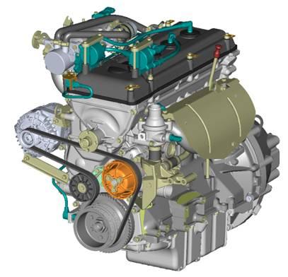 Двигатель ЗМЗ-40911 УАЗ-3741 ЕВРО-4,под ГУР (ЗМЗ)